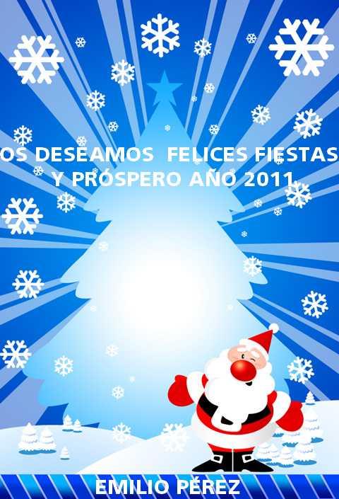 Felices Fiestas & Feliz 2011 a todos!!