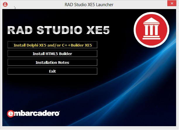 Instalar Delphi XE5