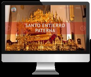 Web santoentierropaterna.com