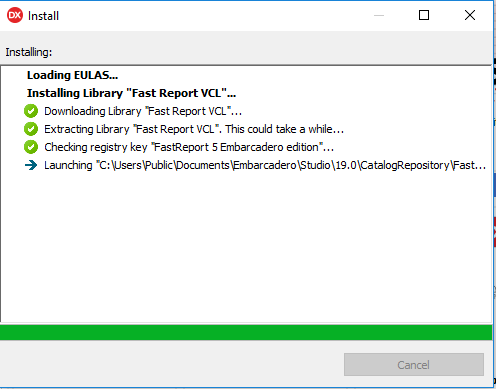 Instalando Fast Report VCL